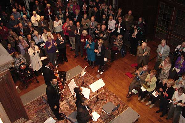 Standing-Ovation-at-Harlem-Quartet---Photo-Liz-Dossa